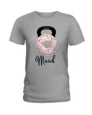 Donut Mood Shirt Ladies T-Shirt thumbnail