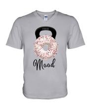 Donut Mood Shirt V-Neck T-Shirt thumbnail