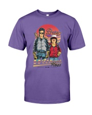 Steve And Dustin Bros Without Hoes Stranger Shirt Premium Fit Mens Tee thumbnail