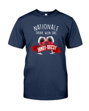 Nationale Drink Wijn Dag Jan01 Dec31 Shirt Classic T-Shirt tile