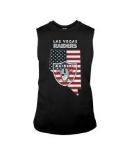 American Flag Las Vegas Raiders Shirt Sleeveless Tee thumbnail