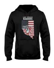 American Flag Las Vegas Raiders Shirt Hooded Sweatshirt thumbnail