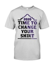 2020 Time To Change Your Shirt Premium Fit Mens Tee thumbnail