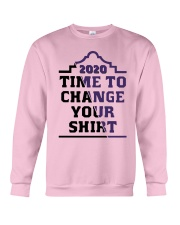 2020 Time To Change Your Shirt Crewneck Sweatshirt tile