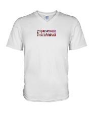 Supreme Covid Shirt V-Neck T-Shirt thumbnail