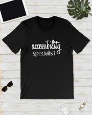 Accessibility Specialist Shirt Classic T-Shirt lifestyle-mens-crewneck-front-17