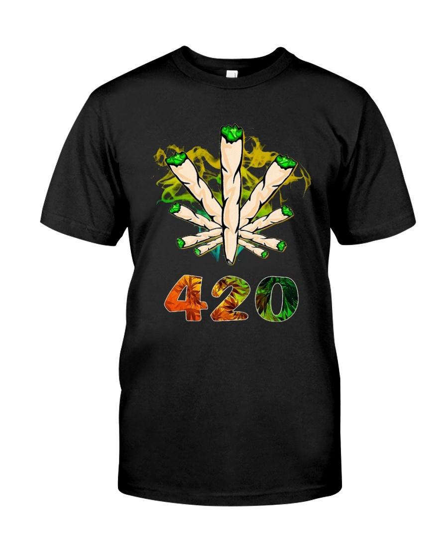 Cannabis Smoke 420 Shirt Classic T-Shirt