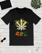 Cannabis Smoke 420 Shirt Classic T-Shirt lifestyle-mens-crewneck-front-17