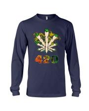 Cannabis Smoke 420 Shirt Long Sleeve Tee thumbnail