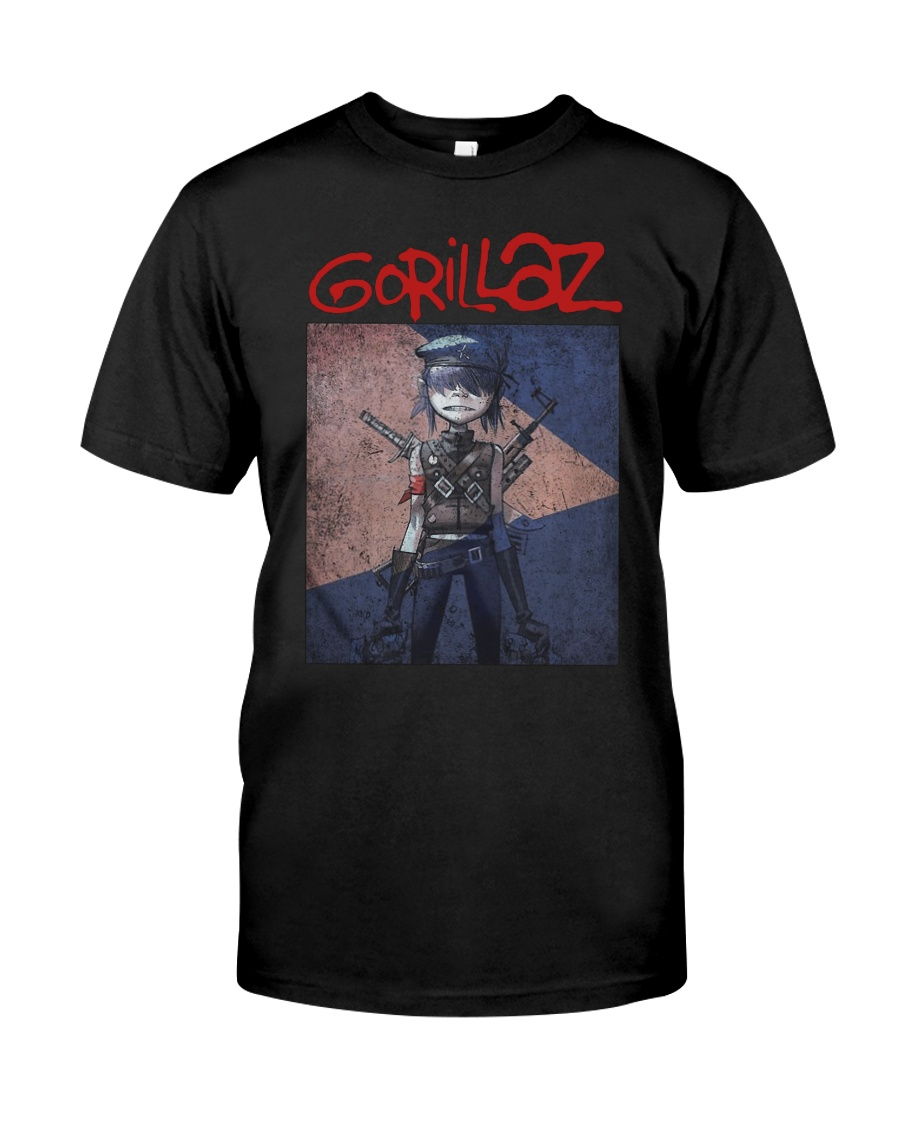 Timothee Chalamet Gorillaz T Shirt