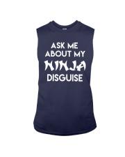 Official Ask Me About My Ninja Shirt Sleeveless Tee thumbnail