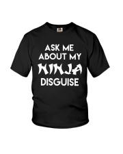Official Ask Me About My Ninja Shirt Youth T-Shirt thumbnail