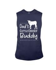 Cow Dad's Cattle Checkin' Buddy Shirt Sleeveless Tee thumbnail