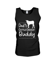 Cow Dad's Cattle Checkin' Buddy Shirt Unisex Tank thumbnail