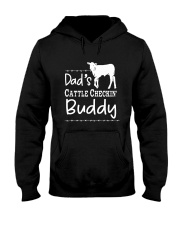 Cow Dad's Cattle Checkin' Buddy Shirt Hooded Sweatshirt thumbnail