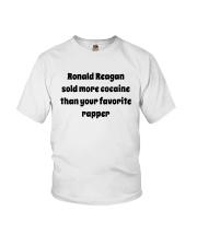 Ronald Reagan Sold Cocaine Favorite Rapper Shirt Youth T-Shirt thumbnail