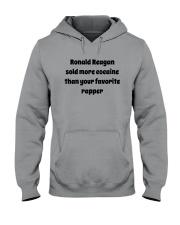 Ronald Reagan Sold Cocaine Favorite Rapper Shirt Hooded Sweatshirt thumbnail