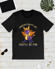 Spyro Underestimate Me That'll Be Fun Shirt Classic T-Shirt lifestyle-mens-crewneck-front-17