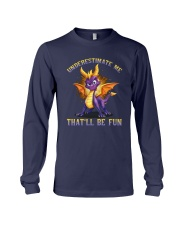 Spyro Underestimate Me That'll Be Fun Shirt Long Sleeve Tee tile