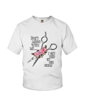 Don't Mess With Me I Get Paid To Cut People Shirt Youth T-Shirt thumbnail