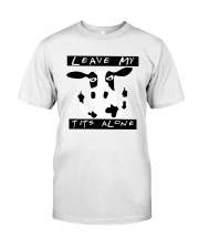 Cow Leave Me Alone Shirt Classic T-Shirt front