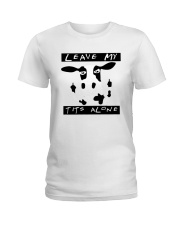Cow Leave Me Alone Shirt Ladies T-Shirt thumbnail