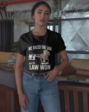We Raced The Law And The Law Won Shirt Classic T-Shirt apparel-classic-tshirt-lifestyle-05