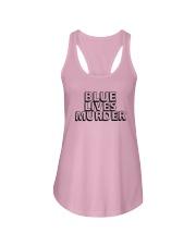 Blue Lives Murder Shirt Ladies Flowy Tank thumbnail