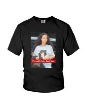 Hillary Clinton Rihanna I'm With Her And Her Shirt Youth T-Shirt thumbnail
