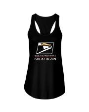 Make The Post Office Great Again Shirt Ladies Flowy Tank thumbnail