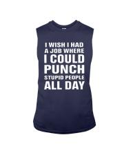 I Wish I Had A Job Where I Could Punch Shirt Sleeveless Tee thumbnail