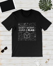 Math Don't Worry I Have A Plan Shirt Classic T-Shirt lifestyle-mens-crewneck-front-17