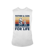 Vintage Father And Son Riding Partners Life Shirt Sleeveless Tee thumbnail