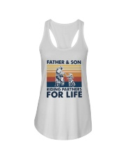 Vintage Father And Son Riding Partners Life Shirt Ladies Flowy Tank thumbnail