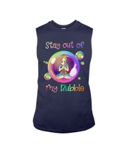 Yoga Girl Stay Out Of My Bubble Shirt Sleeveless Tee thumbnail