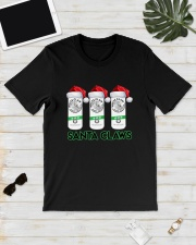 Christmas White Claw Santa Claws Shirt Classic T-Shirt lifestyle-mens-crewneck-front-17