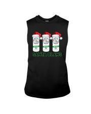 Christmas White Claw Santa Claws Shirt Sleeveless Tee thumbnail