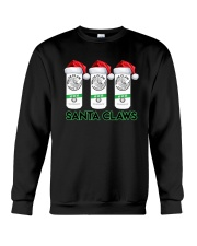 Christmas White Claw Santa Claws Shirt Crewneck Sweatshirt thumbnail