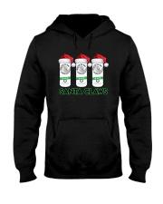 Christmas White Claw Santa Claws Shirt Hooded Sweatshirt thumbnail