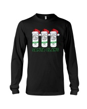 Christmas White Claw Santa Claws Shirt Long Sleeve Tee thumbnail