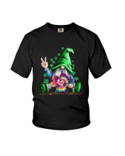St Patrick's Day Hippie Gnome Shirt Youth T-Shirt tile