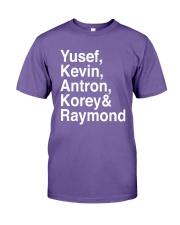 Raymond Santana Central Park 5 Shirt Premium Fit Mens Tee thumbnail