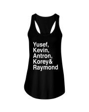 Raymond Santana Central Park 5 Shirt Ladies Flowy Tank thumbnail