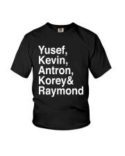 Raymond Santana Central Park 5 Shirt Youth T-Shirt thumbnail