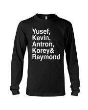 Raymond Santana Central Park 5 Shirt Long Sleeve Tee thumbnail