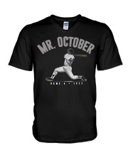 Reggie Jackson Mr October Shirt V-Neck T-Shirt thumbnail