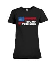 Flag Trump Triumph Shirt Premium Fit Ladies Tee thumbnail