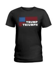 Flag Trump Triumph Shirt Ladies T-Shirt thumbnail