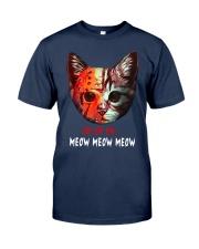 Jason Voorhees Ch Ch Ch Meow Meow Meow Shirt Classic T-Shirt tile
