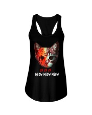 Jason Voorhees Ch Ch Ch Meow Meow Meow Shirt Ladies Flowy Tank thumbnail